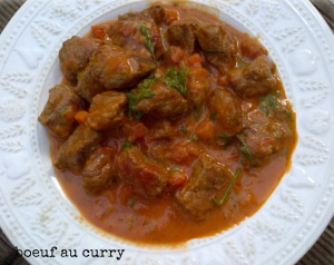 boeuf au curry