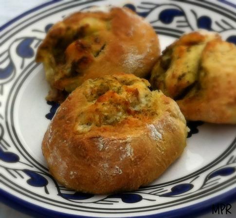 petit pain pesto 3