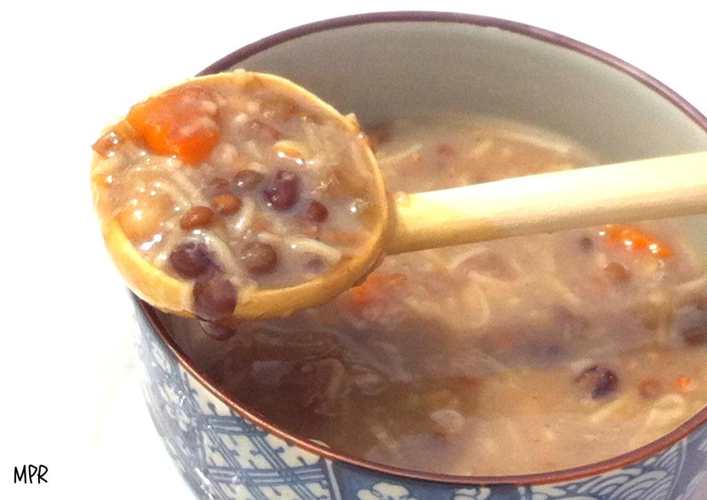soupe légumes secs 2