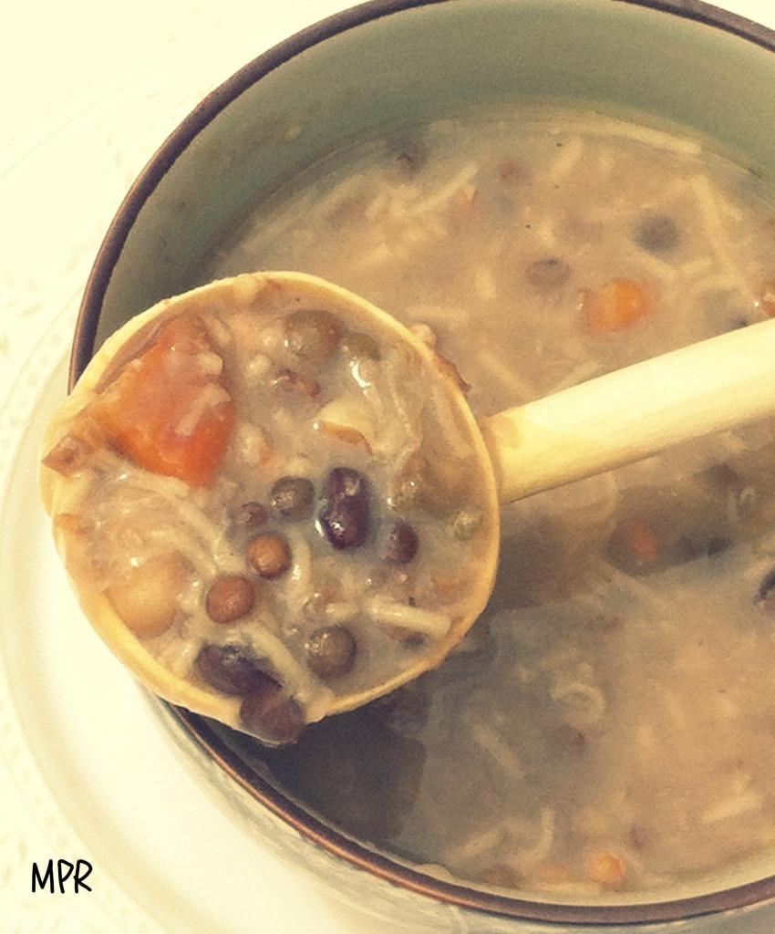 soupe légumes secs 3